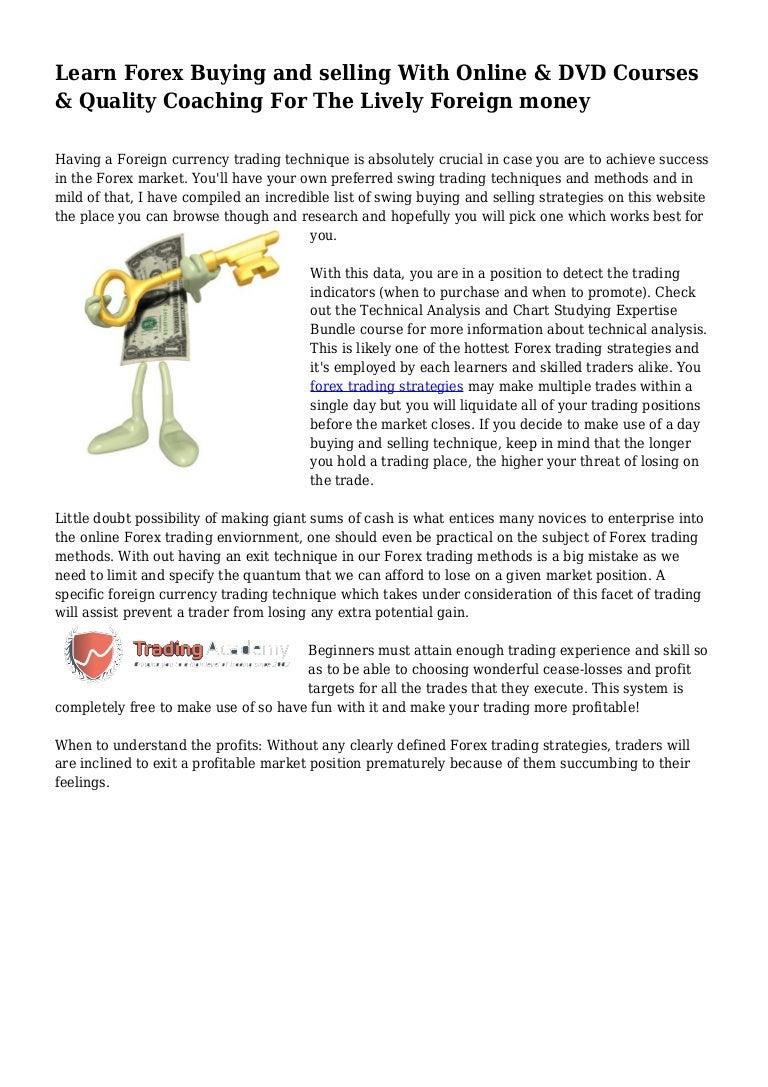 Learn forex dvd sigma aldrich wikinvestment
