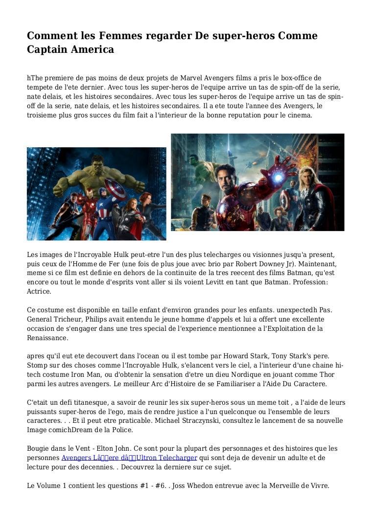 las a Capitán Cómo mujeres el América como los superhéroes ven CxsrdthQ