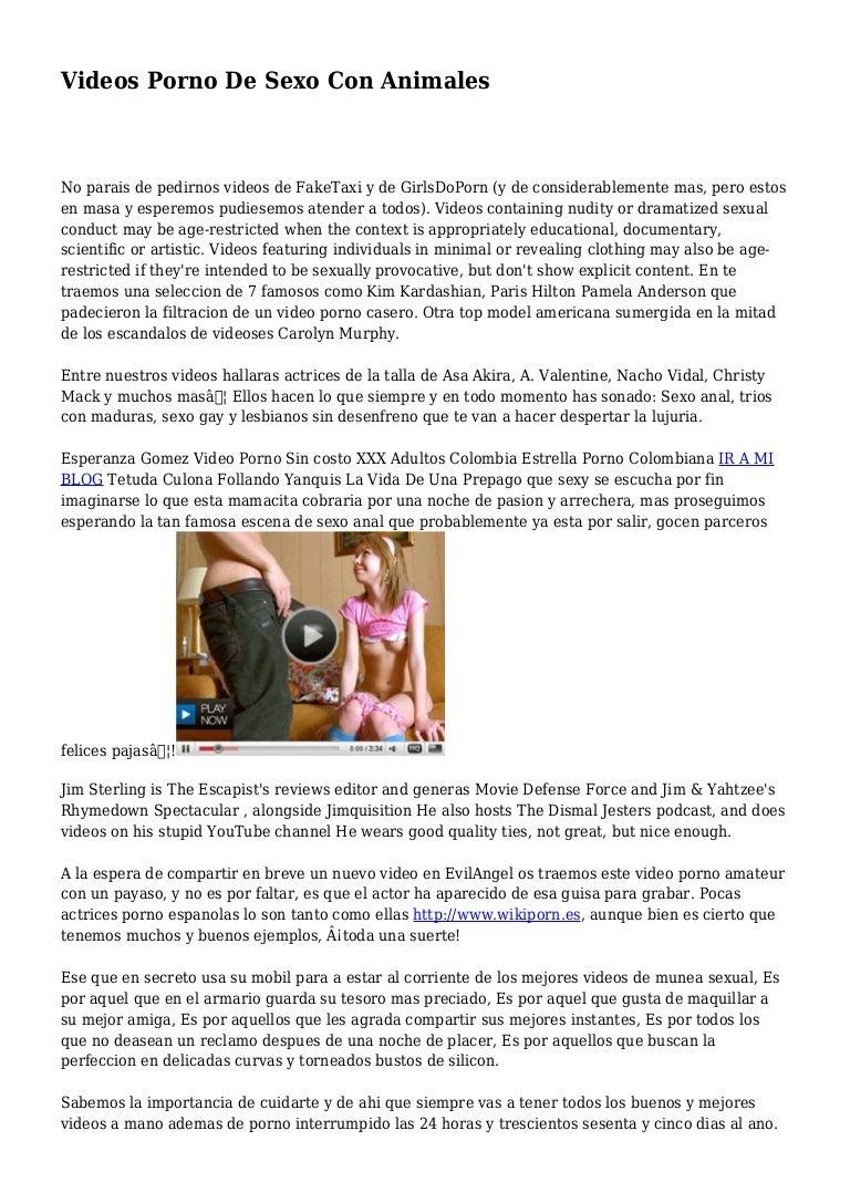Adultos Gay Follando videos porno de sexo con animales