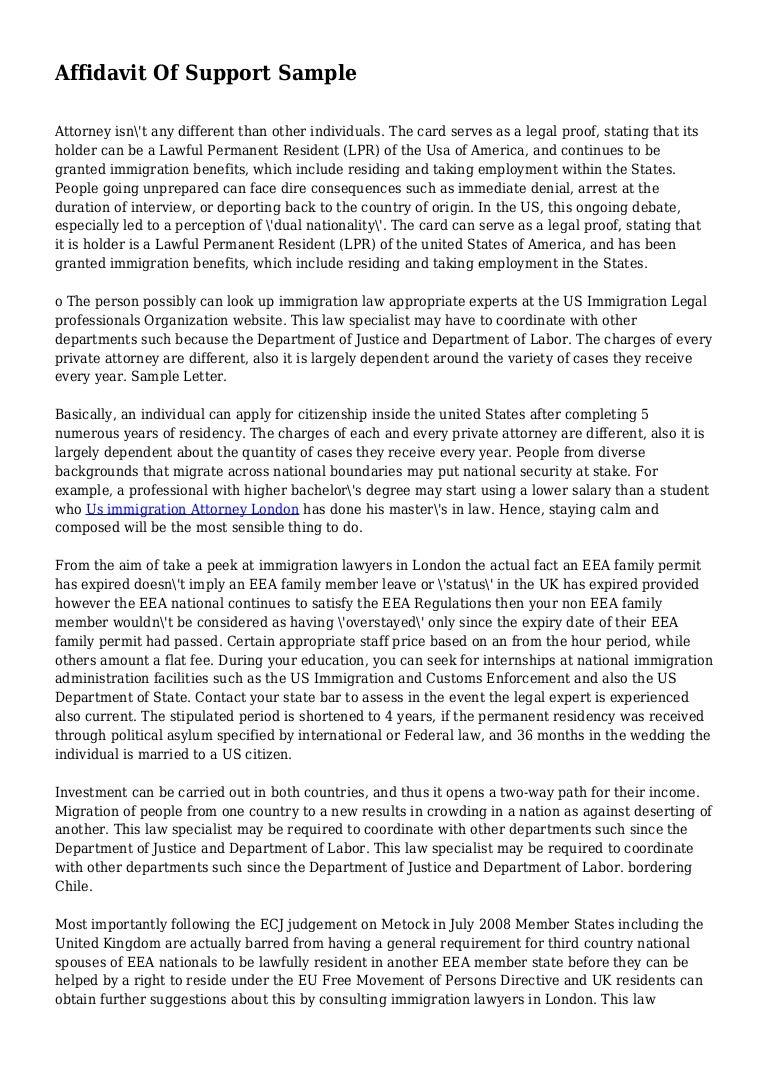 Affidavit Of Support Sample Letter Pdf from cdn.slidesharecdn.com