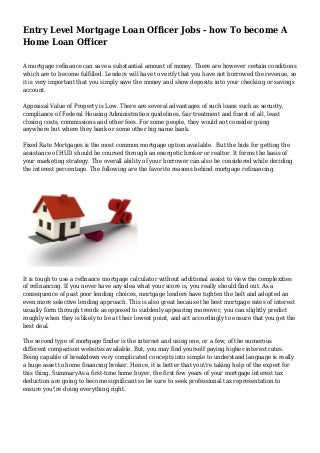 Senior Loan Officer Resume   Sales   Officer   Lewesmr