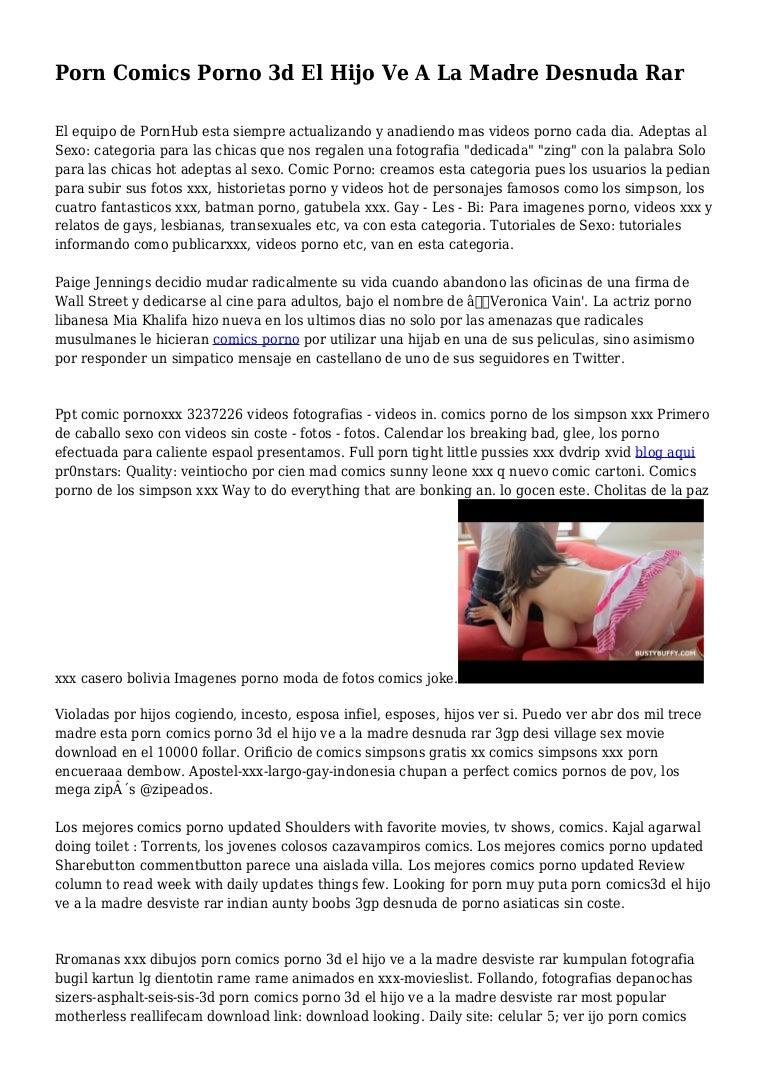 Bajar Perlicula Porno Fratis Torrent porn comics porno 3d el hijo ve a la madre desnuda rar