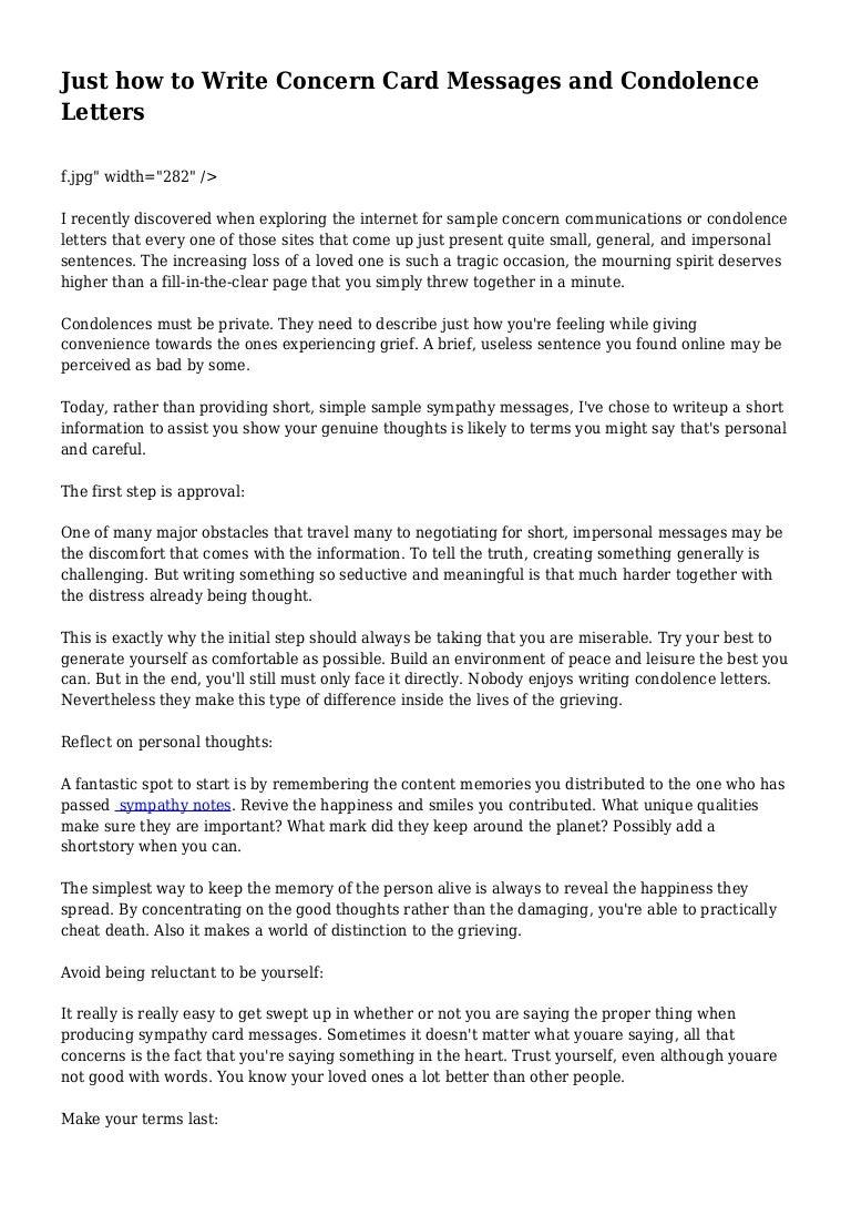 Sample Letter Of Condolences from cdn.slidesharecdn.com