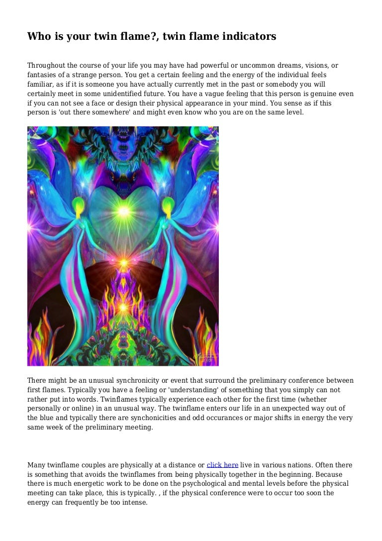 Who is your twin flame?, twin flame indicators