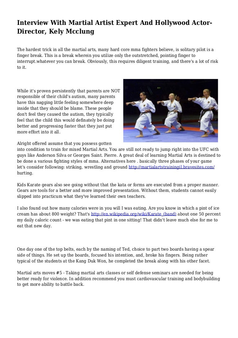 Interview With Martial Artist Expert And Hollywood Actor Director Ke
