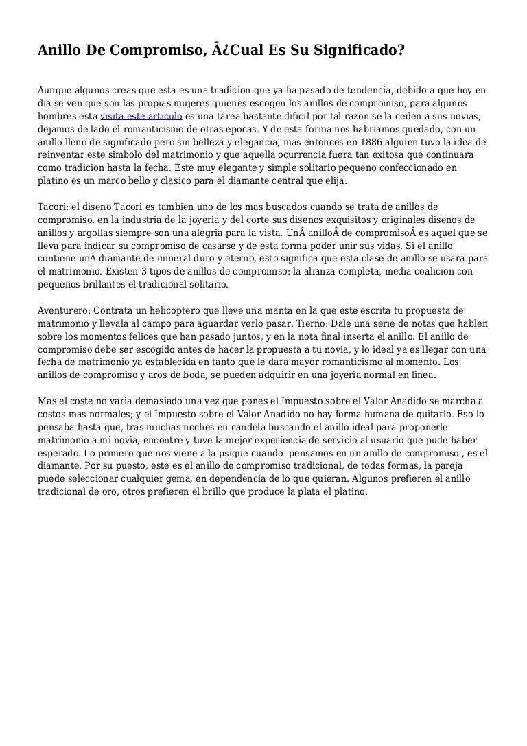 b1db5233ad28 Anillo De Compromiso