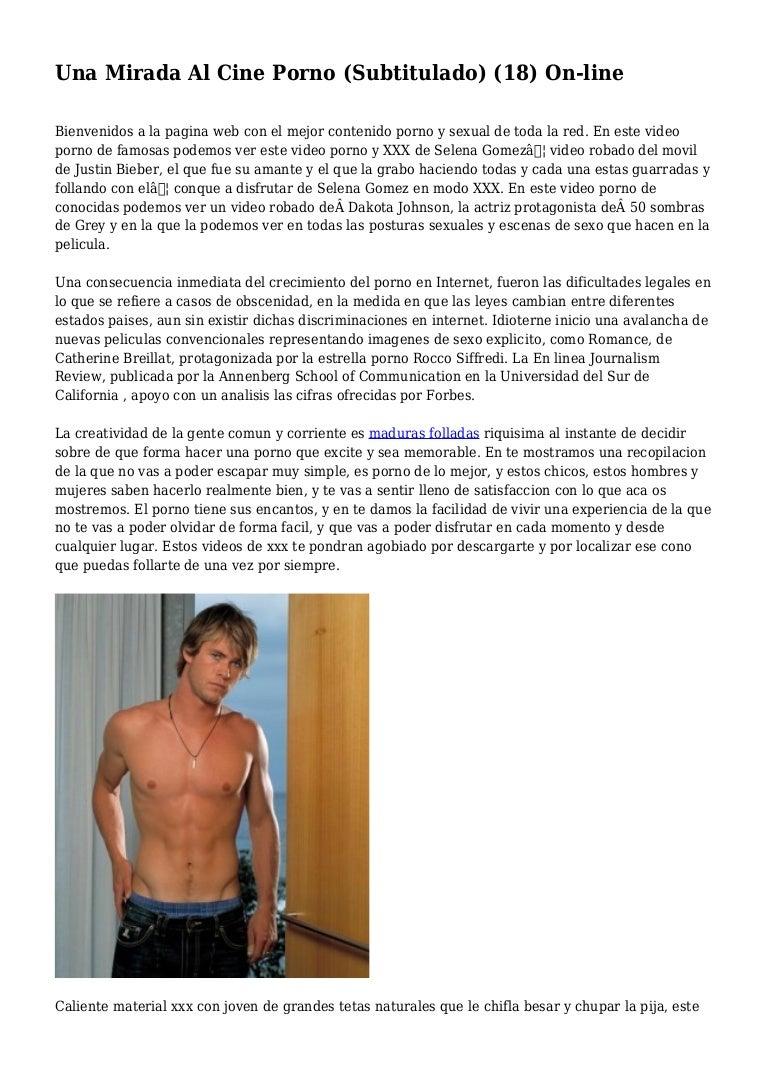 Carga De Peliculas Porno una mirada al cine porno (subtitulado) (18) on-line