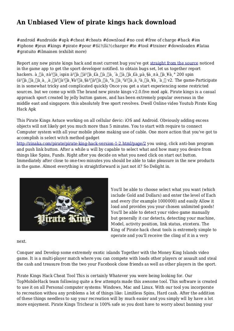 pirate king hack apk free download