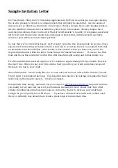 Invitation Letter For Guest Speaker For Church Anniversary from cdn.slidesharecdn.com
