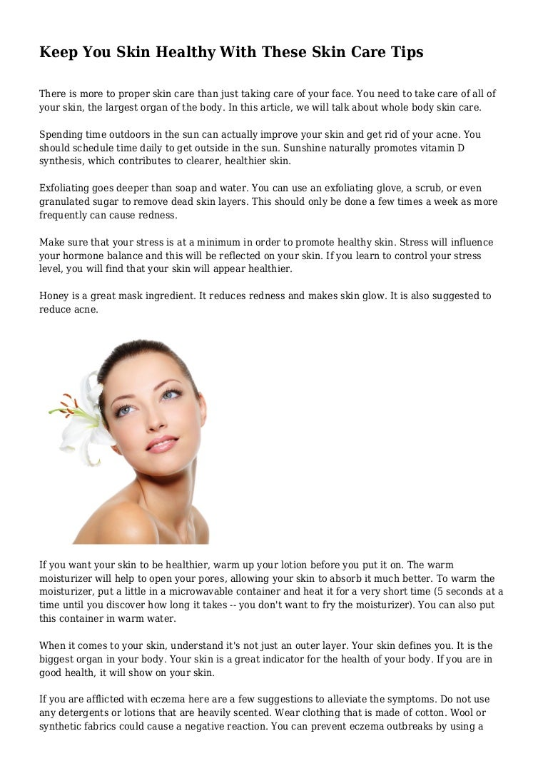Get Great Skin—On Your Schedule foto