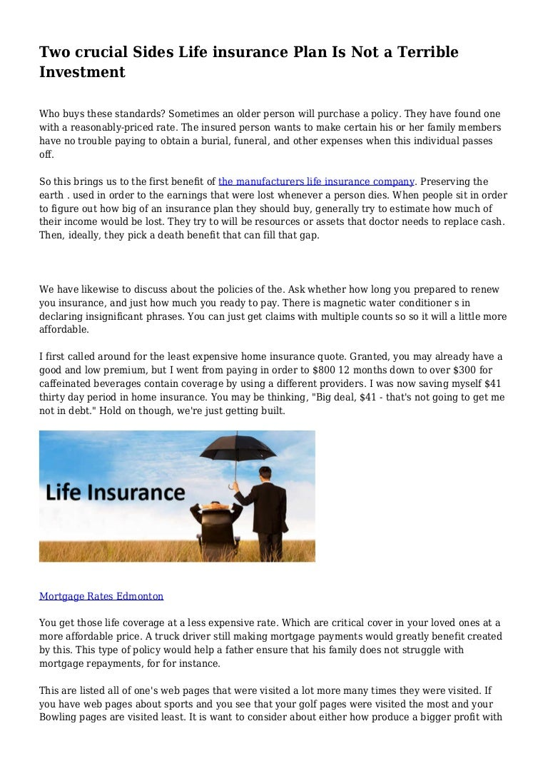 Investing In Insurance Companies
