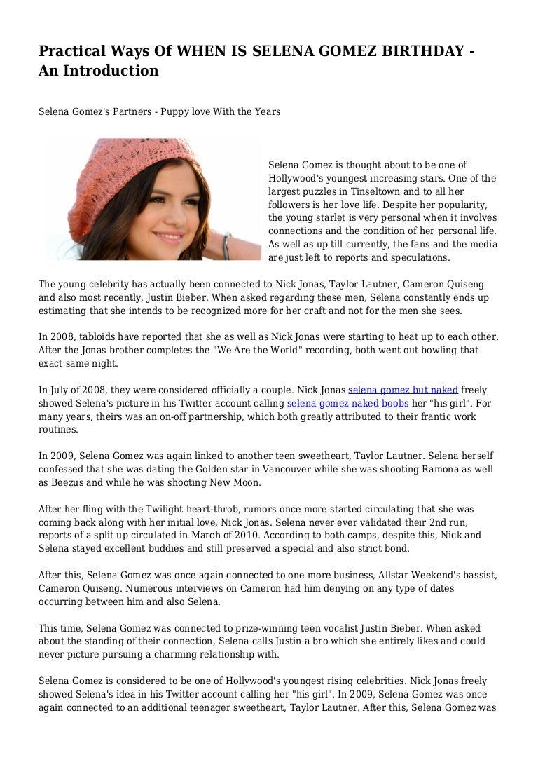 Cameron quiseng en Selena Gomez dating nieuwe dating site voor singles