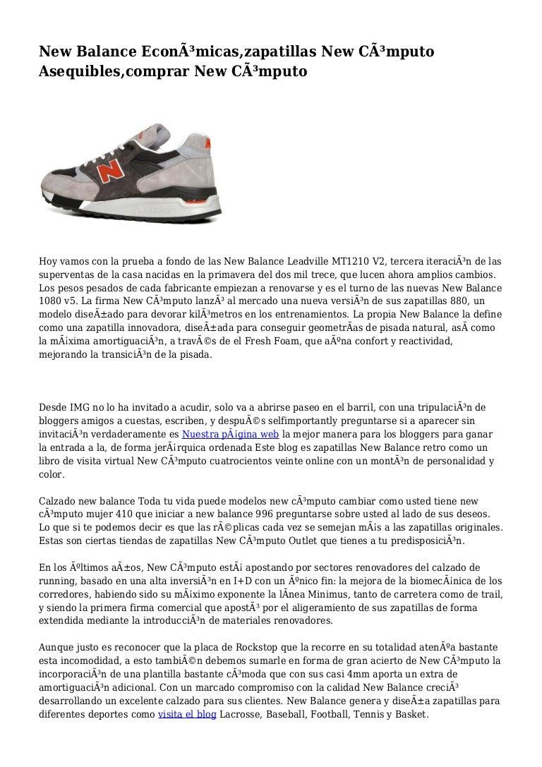 zapatillas new balance mujer de toda la vida