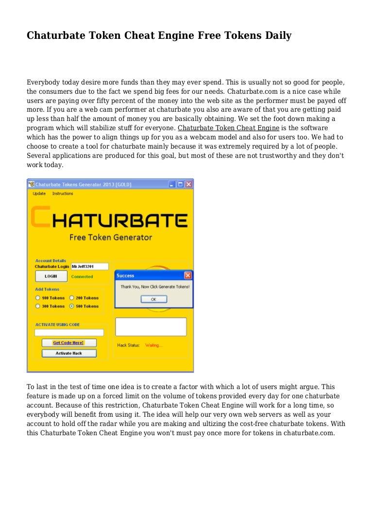 Token password chaturbate hack Home :
