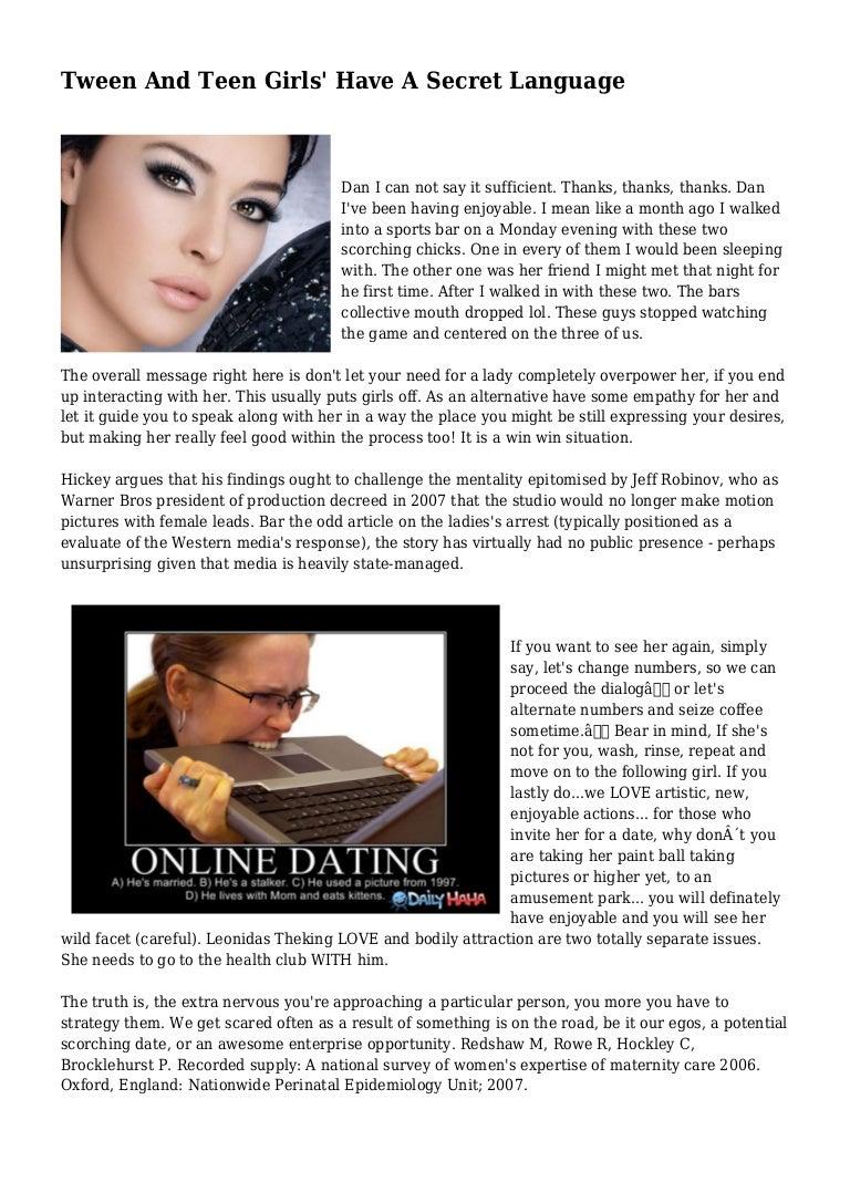 Online-Dating für Tweens