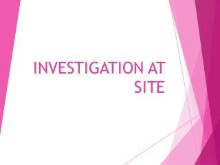 1442 site investigation 325