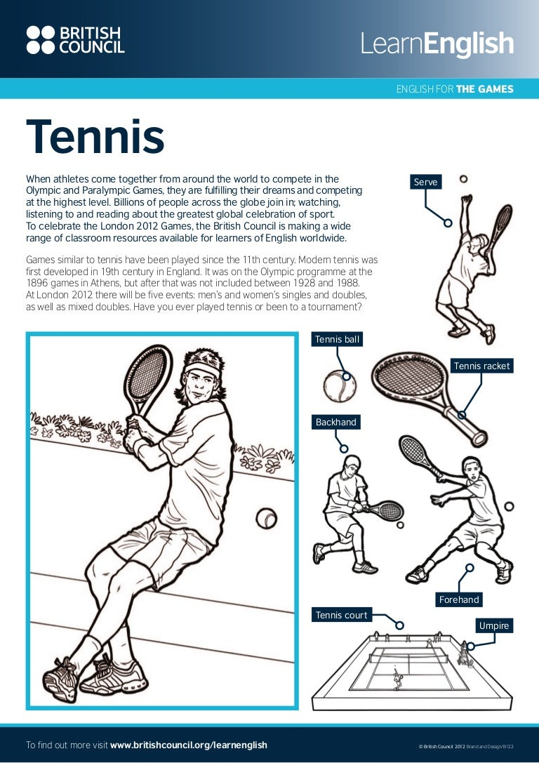 worksheet Sports Worksheets 146129114 sports worksheets tennis 2