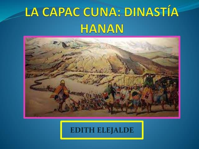 CAPAC CUNA INCA Y LA DINASTIA HURIN