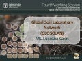 ITEM 14. GSP – The Global Soil Laboratory Network (GLOSOLAN) - Lucrezia Caon