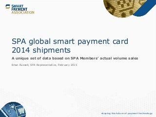 Contactless payment and US chip-and-PIN adoption drives smart card growth in 2014