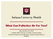What Can Palliative Care Do For You?