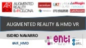 AUGMENTED REALITY & HMD VR