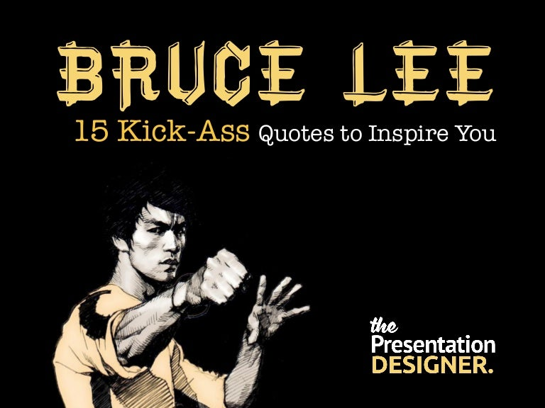 15 Kick-Ass Bruce Lee Quotes