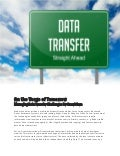 Managing today's data transfer challenges for tomorrow's smart cars