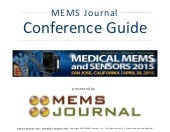 Medical MEMS 2015 -- Conference Guide