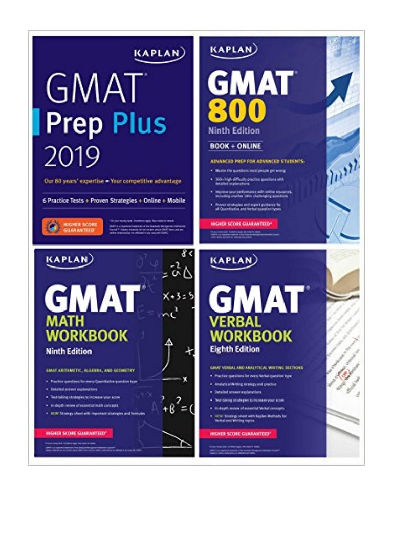 GMAT Complete 2019 PDF - Kaplan Test Prep The Ultimate in Comprehensive Self -Study for GMAT (Kaplan Test Prep)