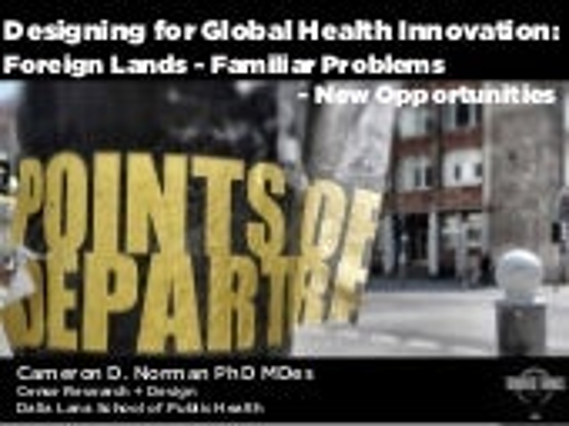 Designing for Global Health Innovation