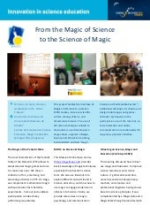 From the Science of Magic to the Magic of Science