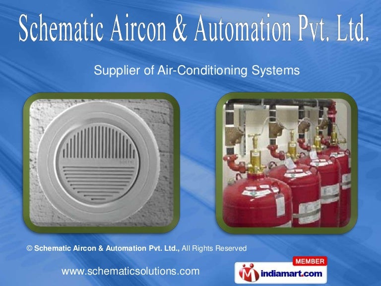 air-conditioning systems by schematic aircon & automation pvt. ltd. p…, Wiring schematic