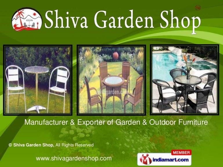garden furniture and accessories by shiva garden shop new delhi