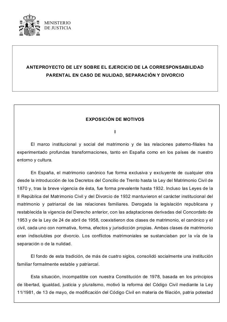 154717931 anteproyecto-de-ley-custodia-compartida-cm-19-7-13