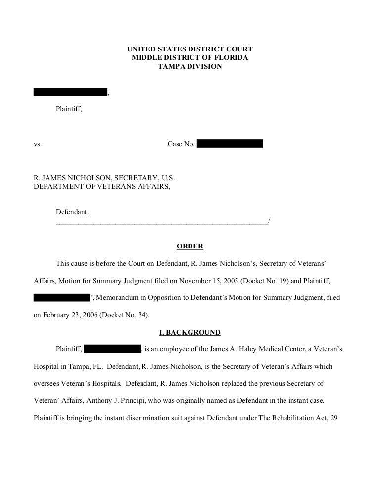 writing sample redacted