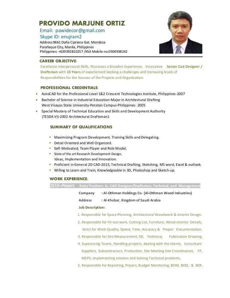 001cnd-Marjune O  Provido Resume 2015