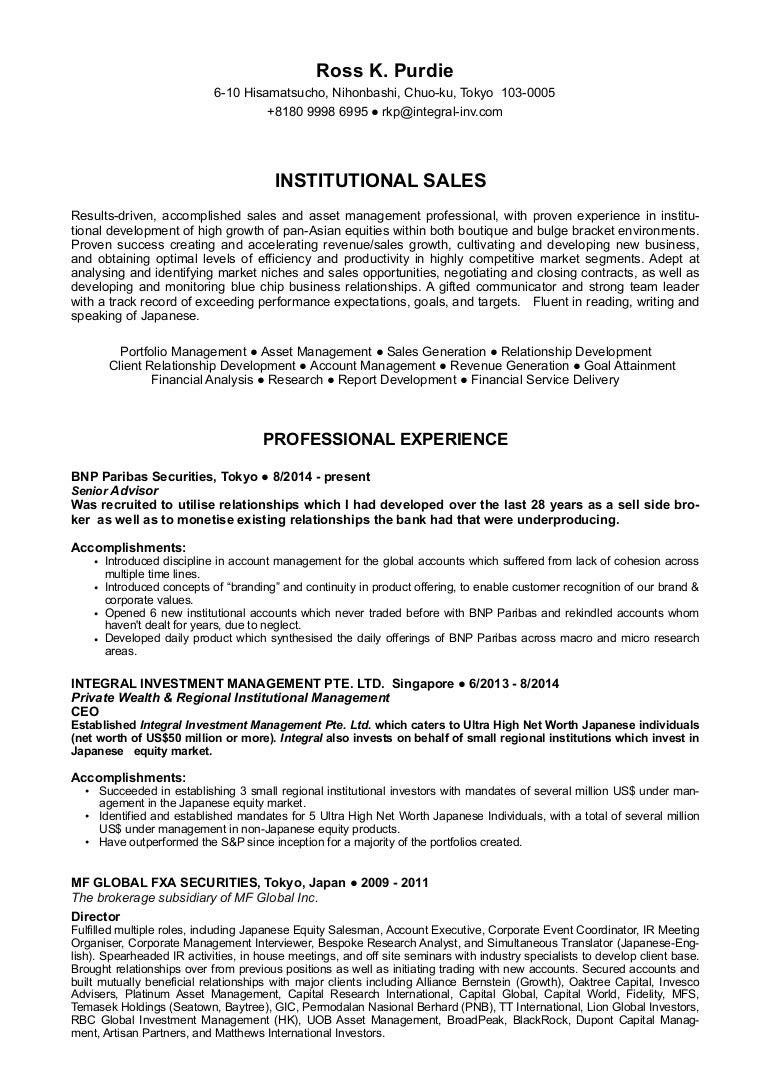 Niedlich Investor Relations Manager Lebenslauf Galerie - Entry Level ...