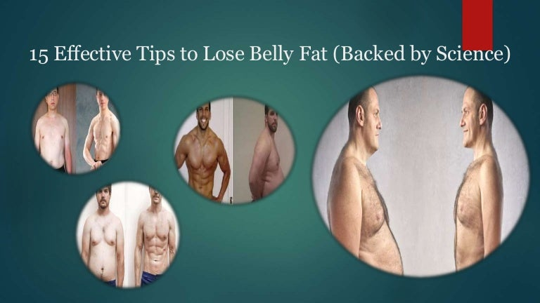 15 effective tips to lose belly fat (backed by science)