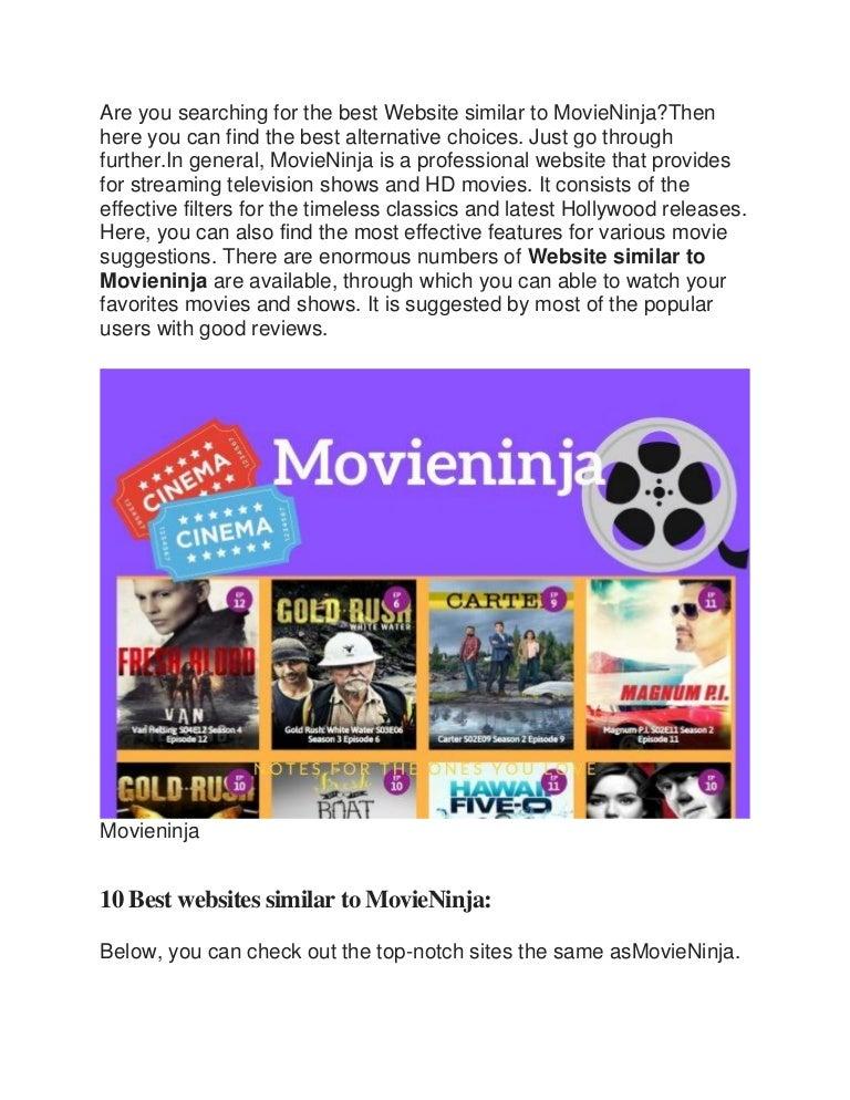 15 free movieninja alternatives