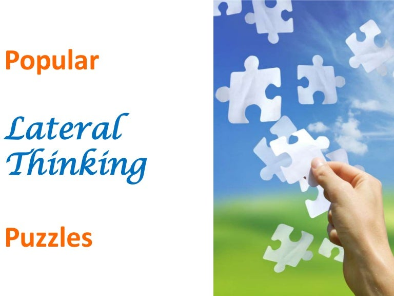 15 lateral thinking puzzles