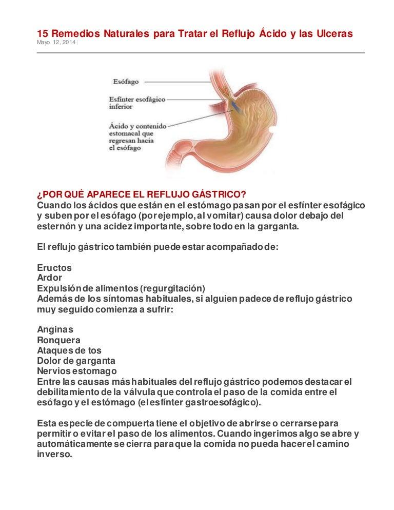 remedios caseros para la gastritis y ulceras gastricas