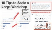 15 Tips to Scale a Large AI/ML Workshop - Both Online and In-Person