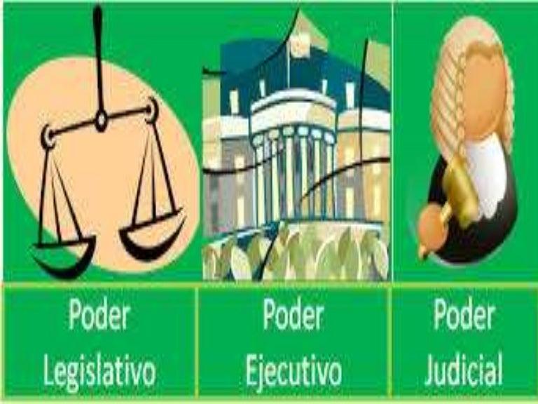 16. poder ejecutivo, legislativo y judicial