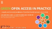 reen Open Access in Practice