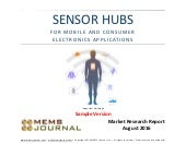 Sensor Hubs for Mobile and Consumer Electronics Applications -- New Report Sample