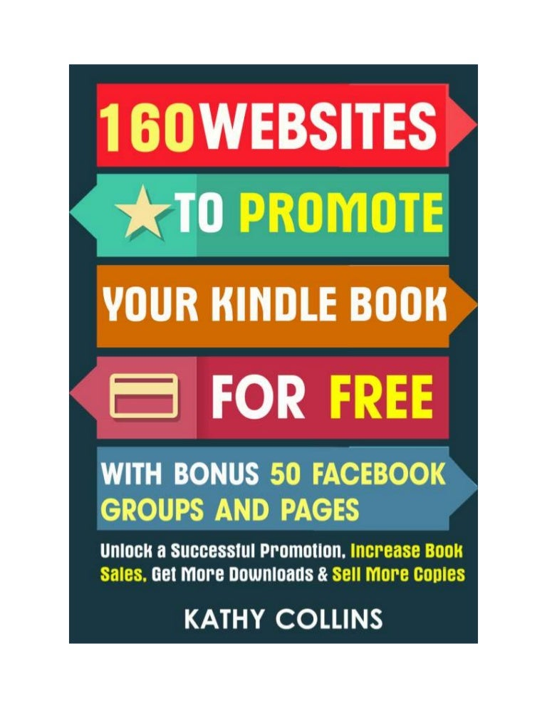 Facebook page for book promotion