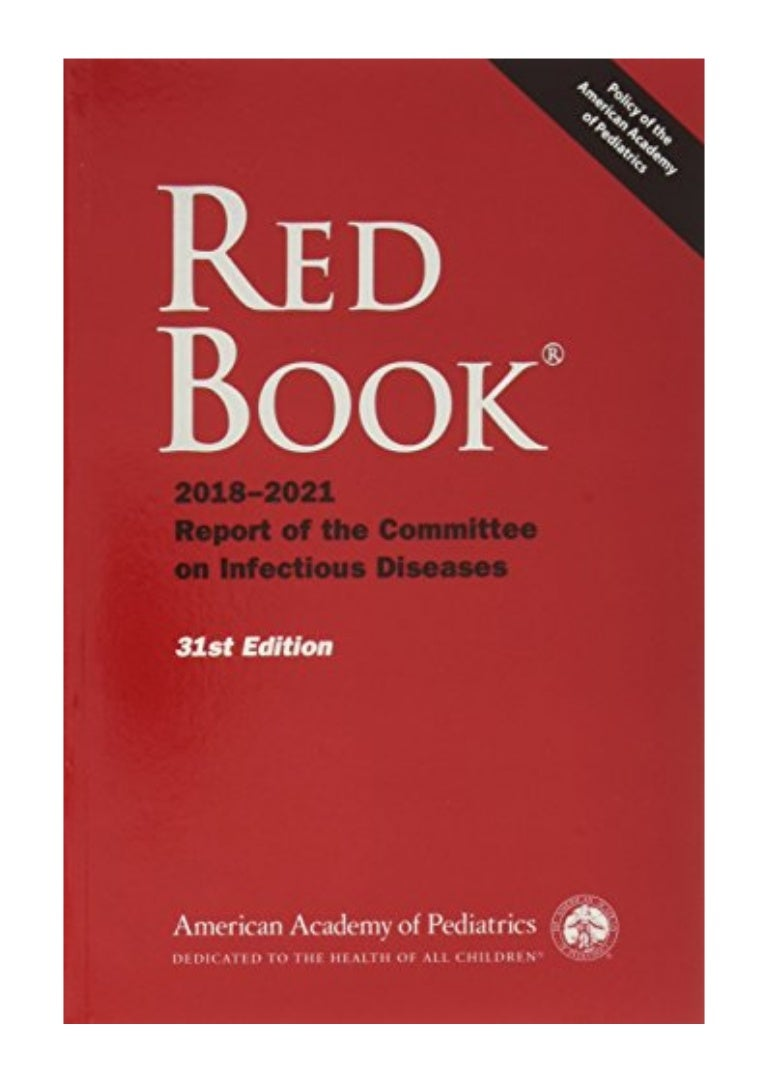 Red book report of the committee of infectious diseases professional annotated bibliography ghostwriter sites