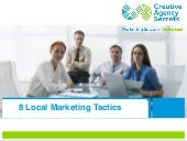8 Local Marketing Tactics for Success
