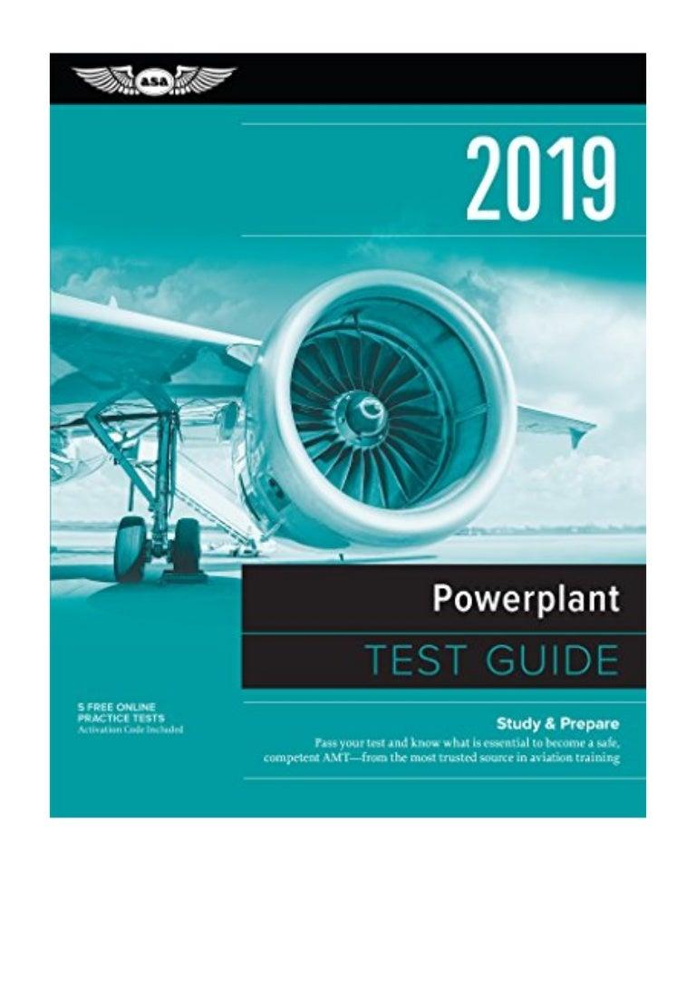 Powerplant Test Guide 2019 PDF - ASA Test Prep Board Pass